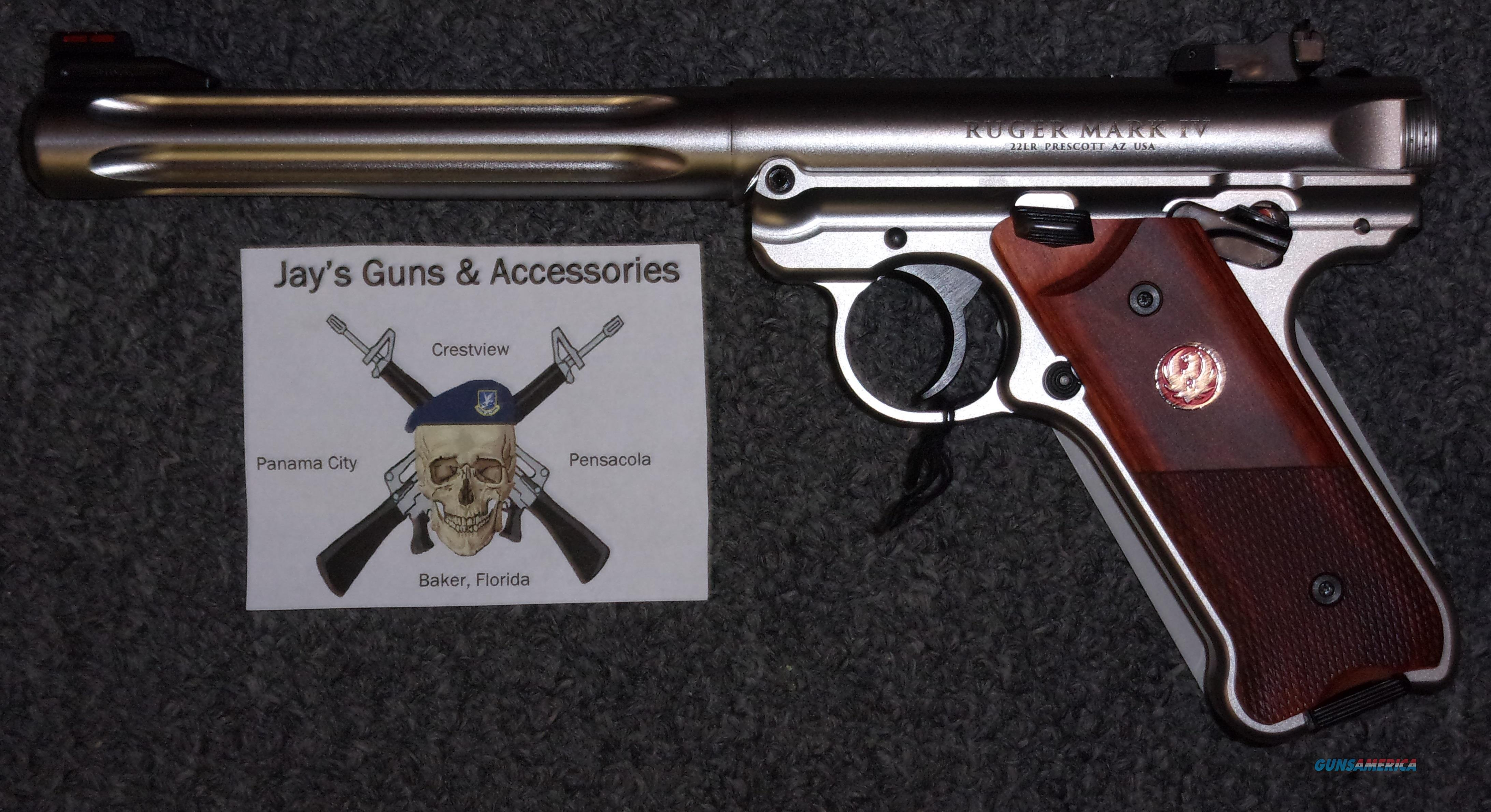Ruger Mark IV Hunter  Guns > Pistols > Ruger Semi-Auto Pistols > Mark I/II/III/IV Family