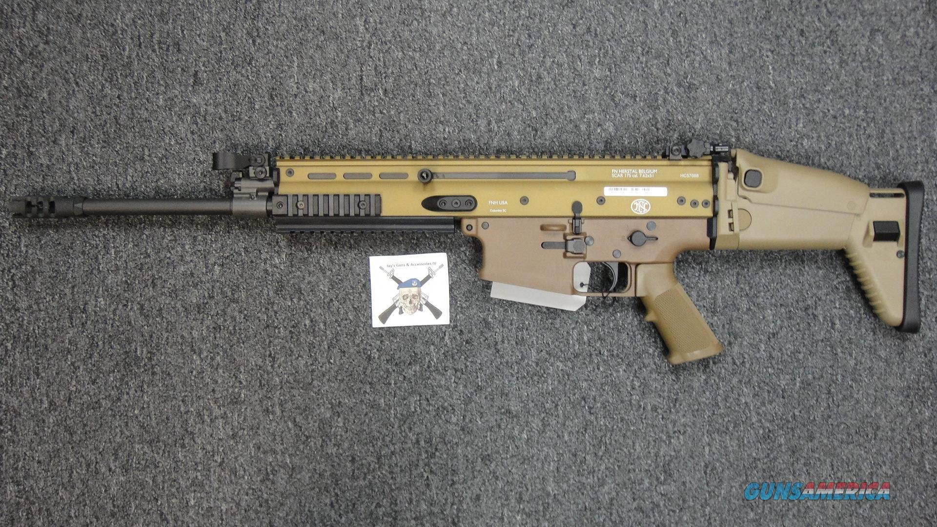 FNH SCAR 17S w/FDE Finish in .308 win   Guns > Rifles > FNH - Fabrique Nationale (FN) Rifles > Semi-auto > Other