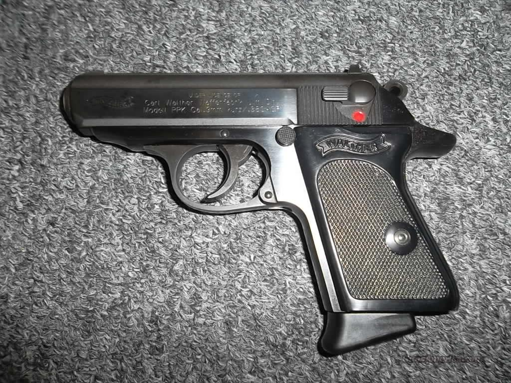 Walther PPK/S 380 Blued  Guns > Pistols > Walther Pistols > Post WWII > PPK Series