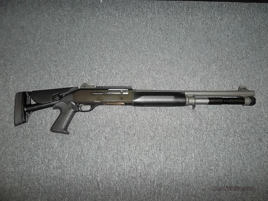 Benelli M4 with collapsible stock LEO/Security  Guns > Shotguns > Benelli Shotguns > Tactical