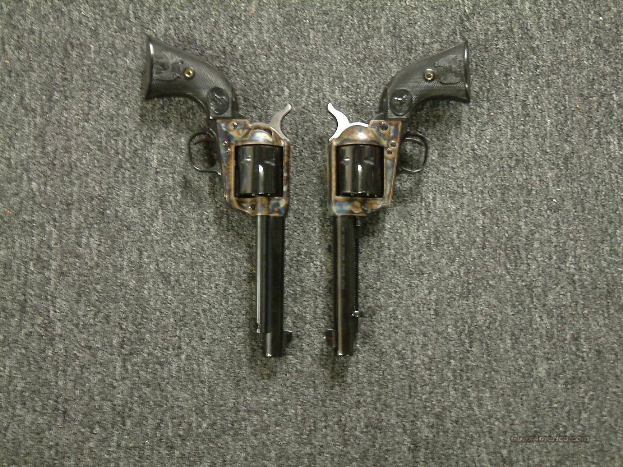 Consecutive Serial Numbered SAA Revolvers  Guns > Pistols > Colt Single Action Revolvers - 3rd Gen.
