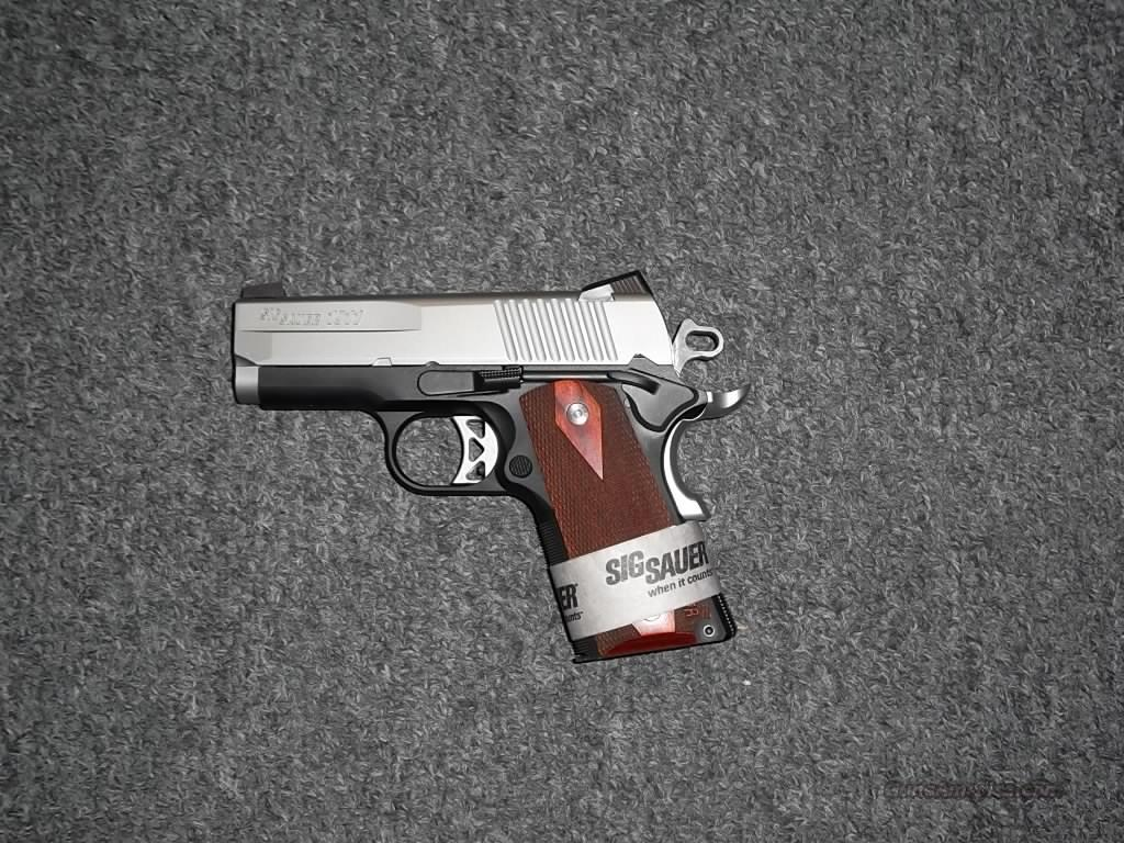 Sig Sauer 1911 Ultra Compact  Guns > Pistols > Sig - Sauer/Sigarms Pistols > 1911