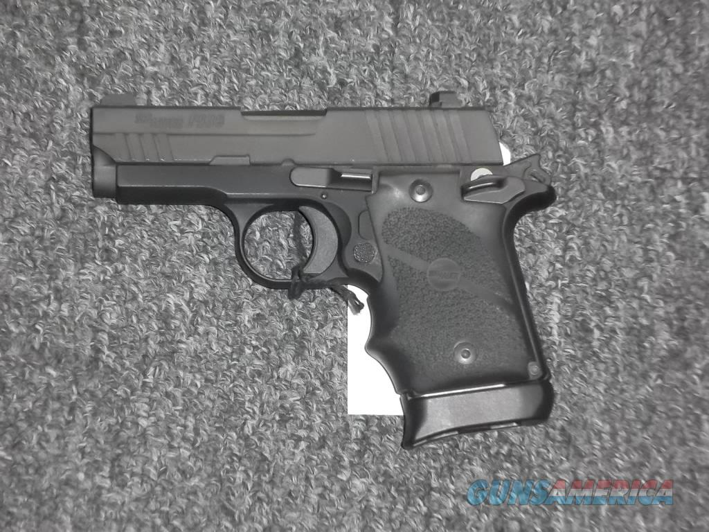 Sig Sauer P938 all black rubber grips  Guns > Pistols > Sig - Sauer/Sigarms Pistols > Other