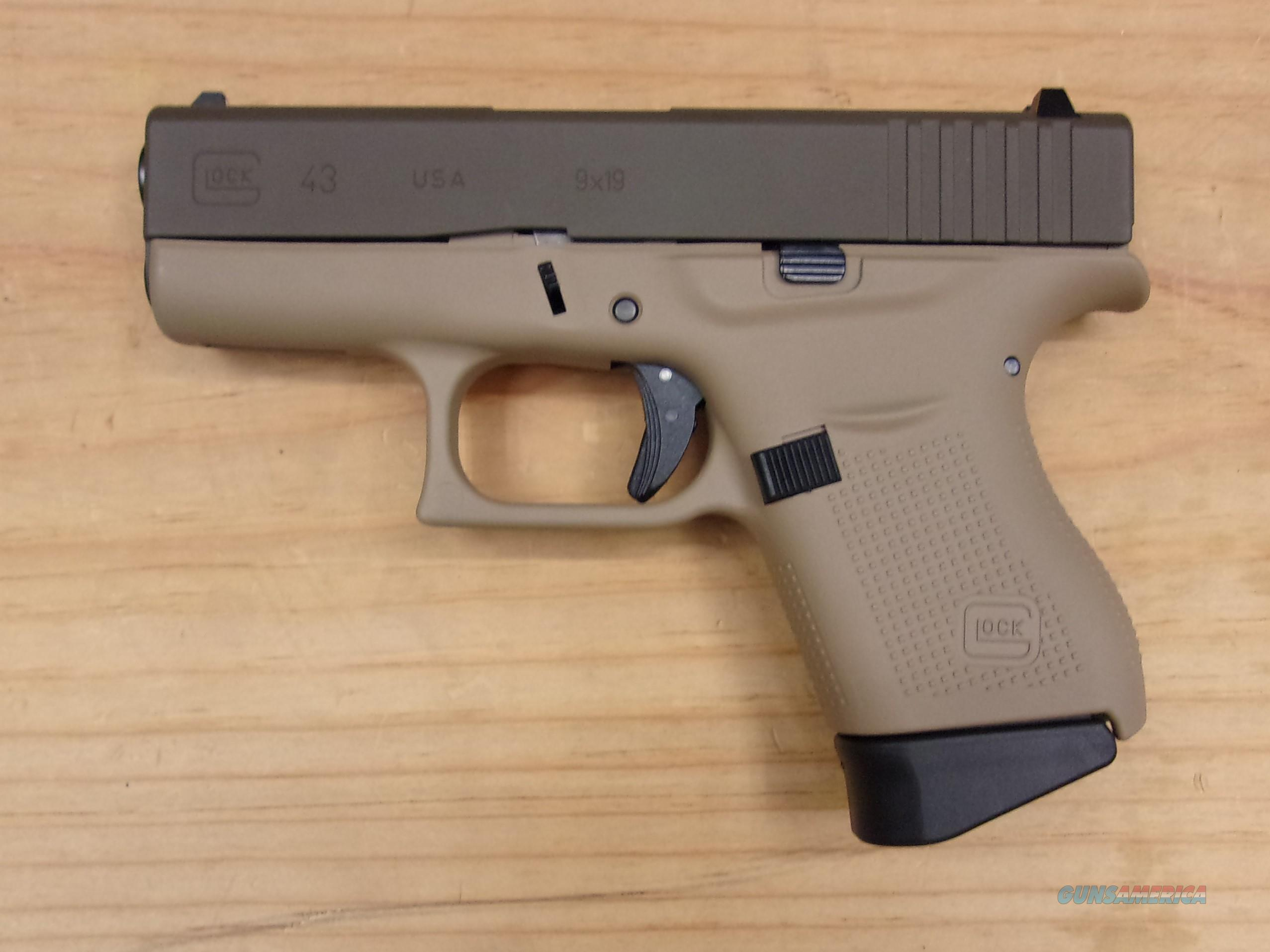 Glock 43 Two-Tone FDE for sale