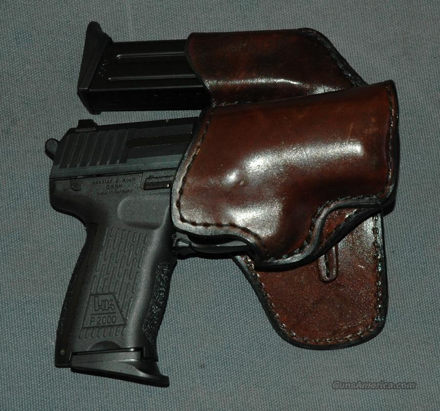 H&K P2000 MARNICKLE LEATHER HOLSTER  Non-Guns > Holsters and Gunleather > Concealed Carry