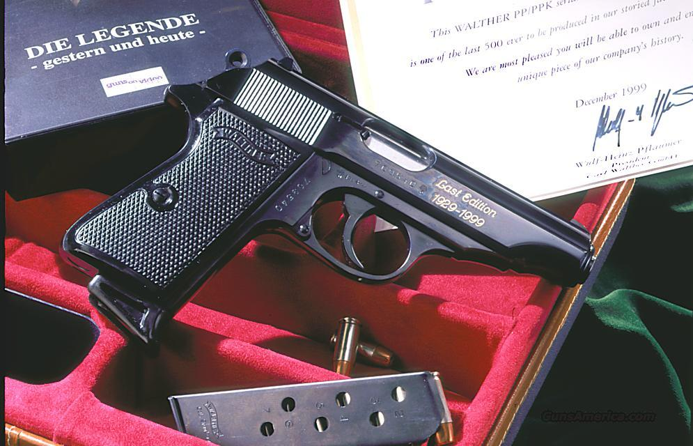 Whalter PP 7.65mm. Last Edition  Guns > Pistols > Walther Pistols > Post WWII > PP Series