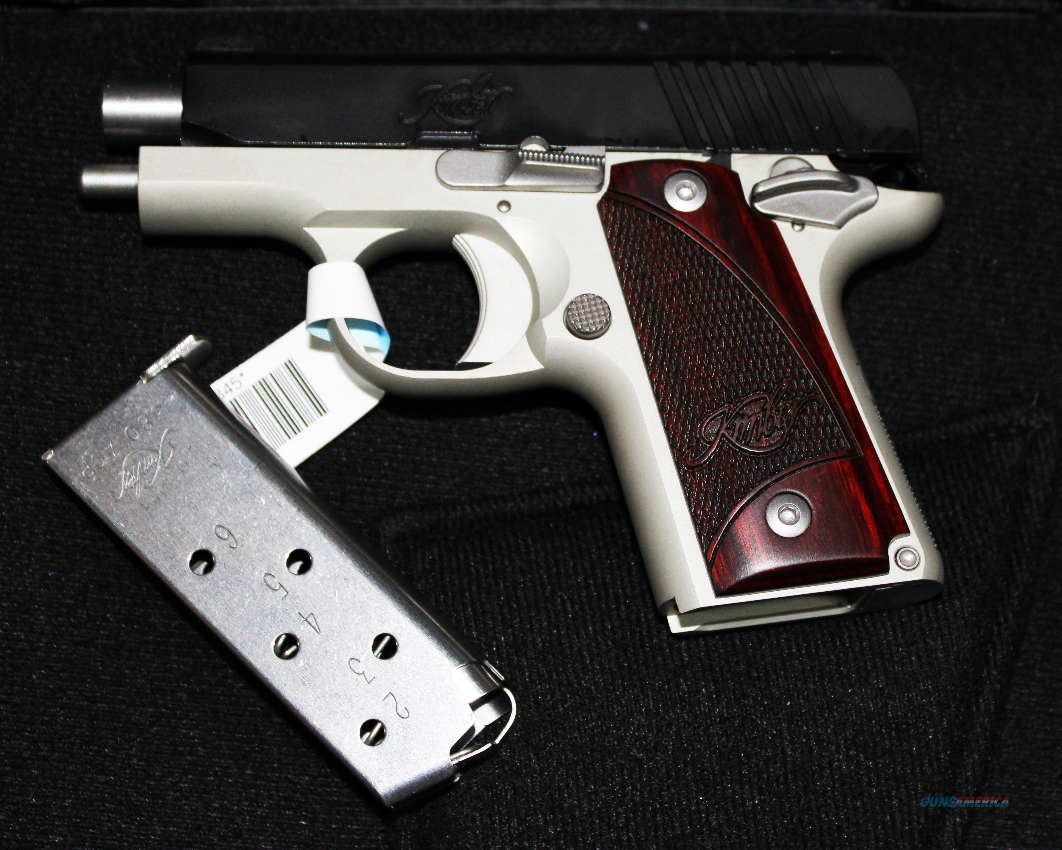 "KIMBER MICRO 380 ACP ""TWO TONE"" WITH ROSEWOOD GRIP NEW IN BOX Guns > Pistols >  Kimber of America Pistols > Micro"