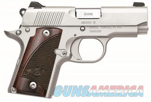KIMBER MICRO 9 STAINLESS WITH ROSEWOOD GRIPS NEW IN THE BOX  Guns > Pistols > Kimber of America Pistols