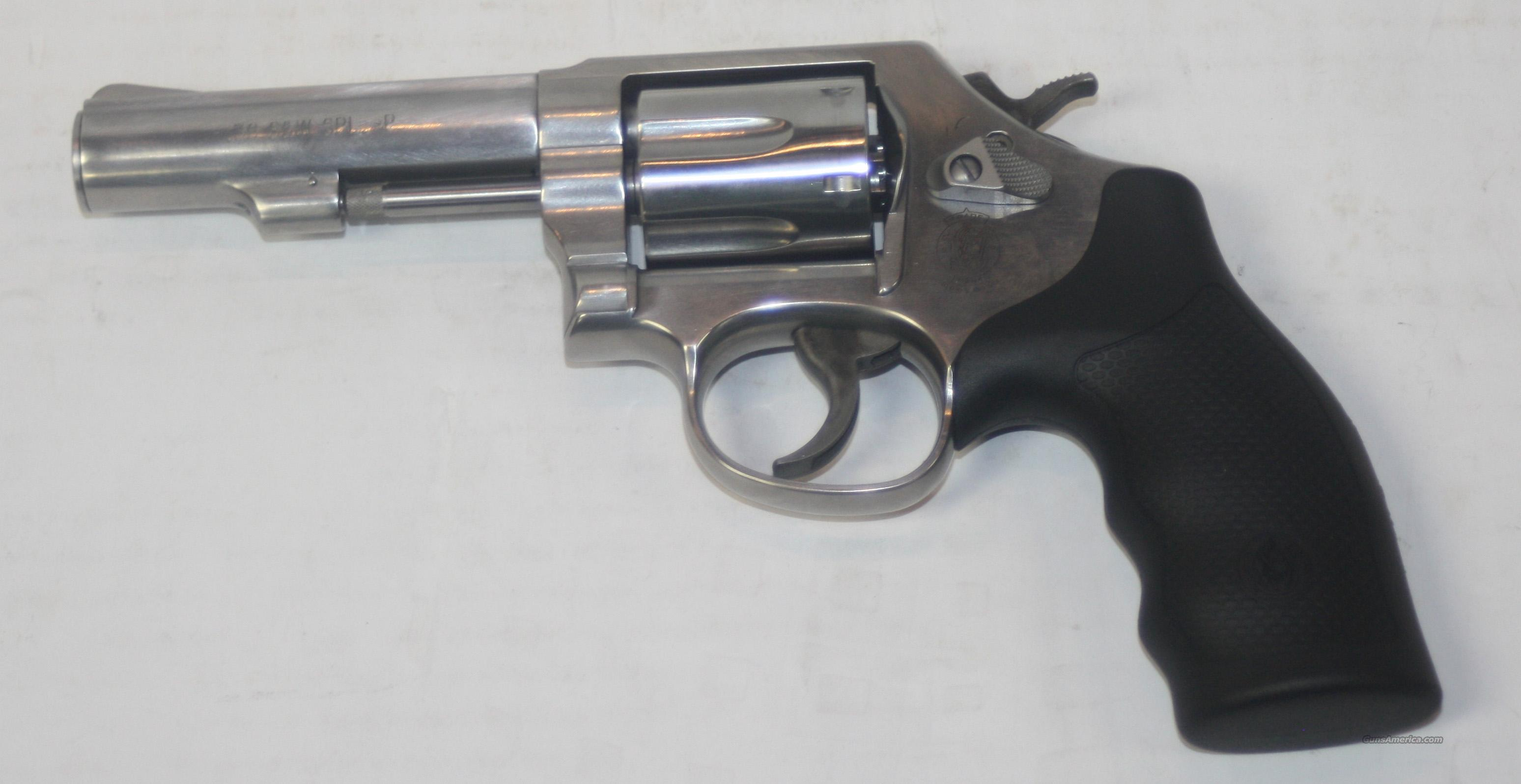 "SMITH & WESSON MODEL 64 #162506 4"" 38 SPEC +P STAINLESS NEW IN BOX  Guns > Pistols > Smith & Wesson Revolvers > Full Frame Revolver"