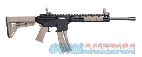 SMITH & WESSON M&P 15-22 SPORT MOE FLAT DARK EARTH 25+1 NEW IN BOX  Guns > Rifles > Smith & Wesson Rifles > M&P