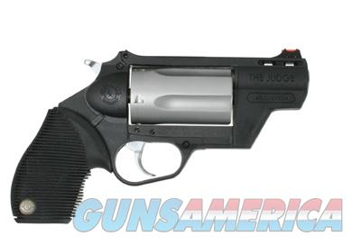 TAURUS JUDGE TRACKER PUBLIC DEFENDER 410 / 45 LC 2.5 INCH NEW IN BOX  Guns > Pistols > Taurus Pistols > Revolvers