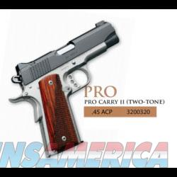 KIMBER PRO CARRY II TWO TONE 45 ACP NEW IN HARD CASE  Guns > Pistols > Kimber of America Pistols