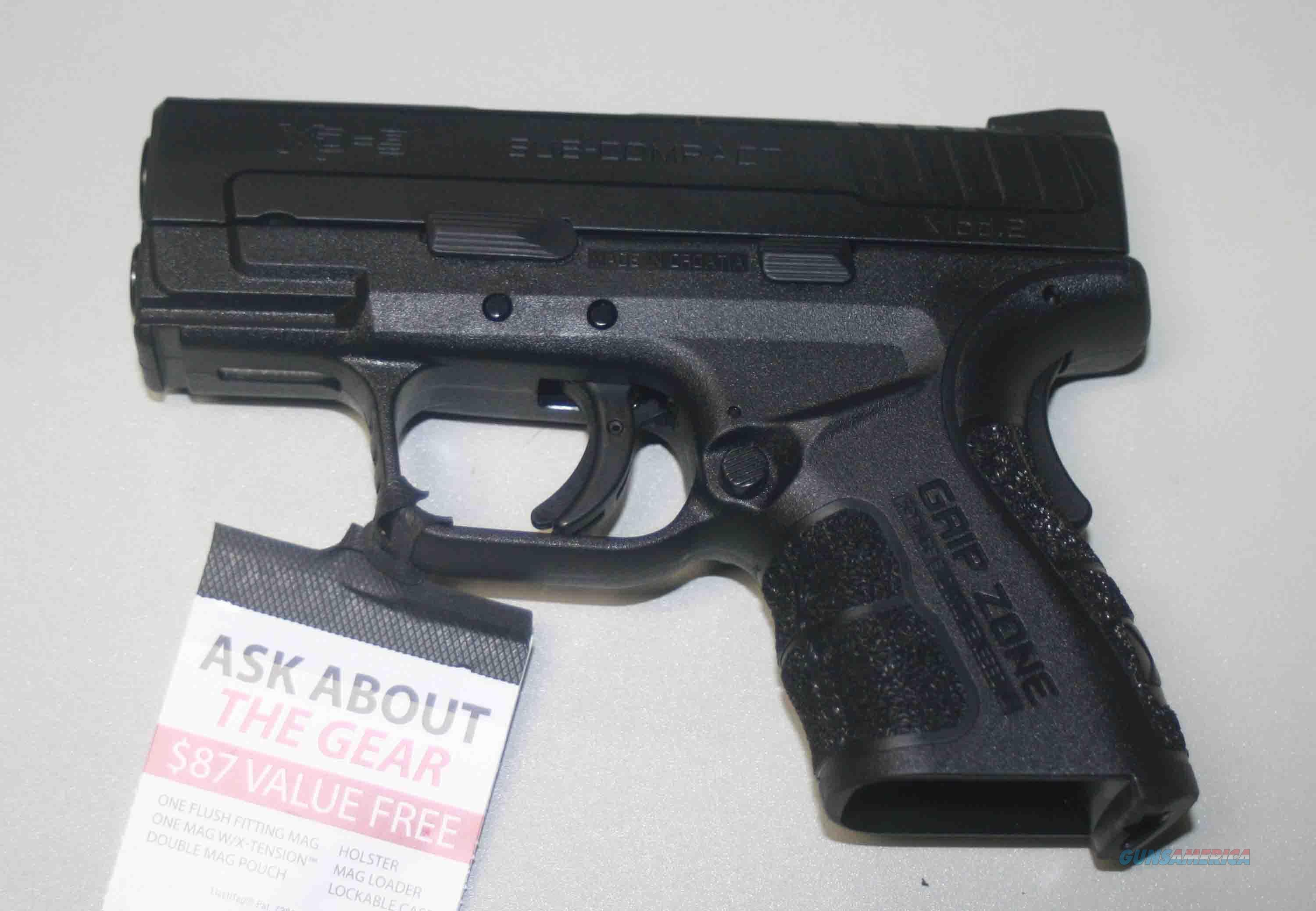SPRINGFIELD'S NEW XD MOD.2  XDG9801HCSP NEW ARRIVAL FOR 2015  Guns > Pistols > Springfield Armory Pistols > XD (eXtreme Duty)