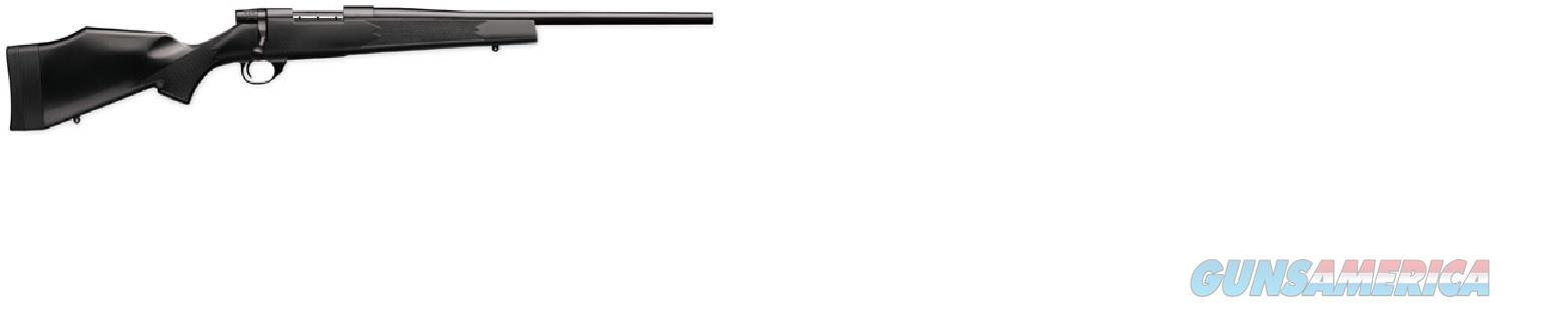 WEATHERBY VANGUARD 243 WIN BLACK SYNTHETIC NEW IN BOX  Guns > Rifles > Weatherby Rifles > Sporting