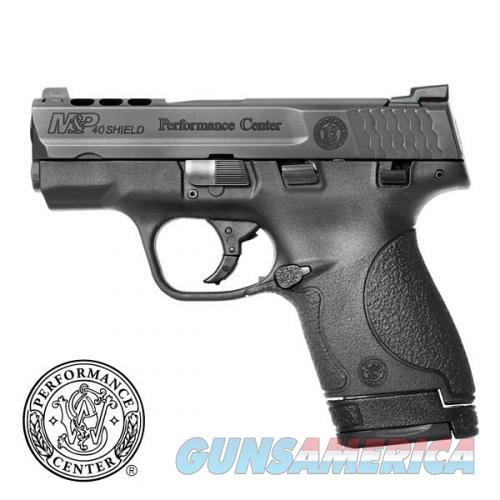 SMITH & WESSON PC PORTED SHIELD 40 SW WITH NIGHT SIGHTS NEW IN BOX  Guns > Pistols > Smith & Wesson Pistols - Autos > Shield