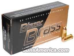 CCI BLAZER BRASS 45 ACP 230 GR FMJ 500  ROUNDS   Non-Guns > Ammunition