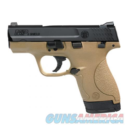 """SMITH & WESSON #10303 M&P 9 SHIELD 9MM LUGER 3.1"""" FLAT DARK EARTH NEW IN BOX  Guns > Pistols > Smith & Wesson Pistols - Autos > Polymer Frame"""