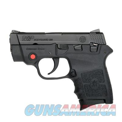 SMITH & WESSON #10048 BODYGUARD 380 WITH CRIMSON TRACE LASER AND FREE EXTRA MAGAZINE WITH PURCHASE NEW IN BOX  Guns > Pistols > Smith & Wesson Pistols - Autos > Polymer Frame