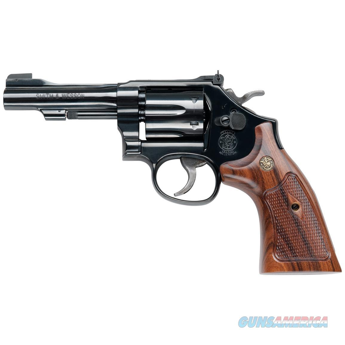 SMITH & WESSON CLASSIC MODEL 48 22 MAGNUM 4 INCH BLUE NEW IN BOX  Guns > Pistols > Smith & Wesson Revolvers > Full Frame Revolver