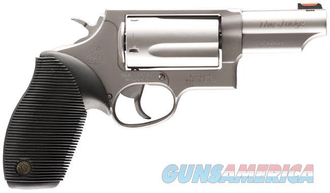 """TAURUS #2441039T JUDGE 45LC / 410 3"""" 5-ROUND STAINLESS NEW IN BOX  Guns > Pistols > Taurus Pistols > Revolvers"""