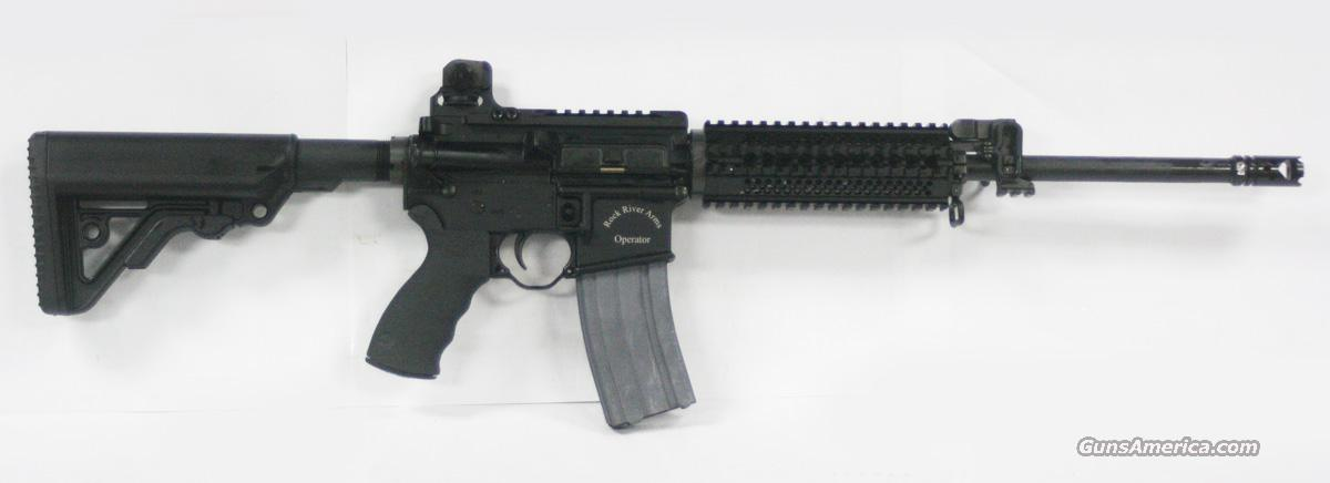 "ROCK RIVER BB2512 A2 TACTICAL OPERATOR 2 16"" 223/5.56 NATO NEW IN BOX  Guns > Rifles > Rock River Arms Rifles"