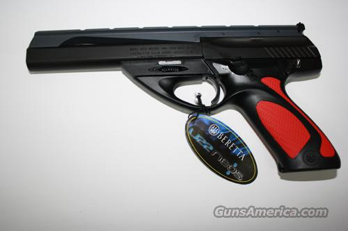 BERETTA NEOS 22LR 6 INCH DELUXE WITH RED GRIP INSERTS NEW IN BOX  Guns > Pistols > Beretta Pistols > Polymer Frame