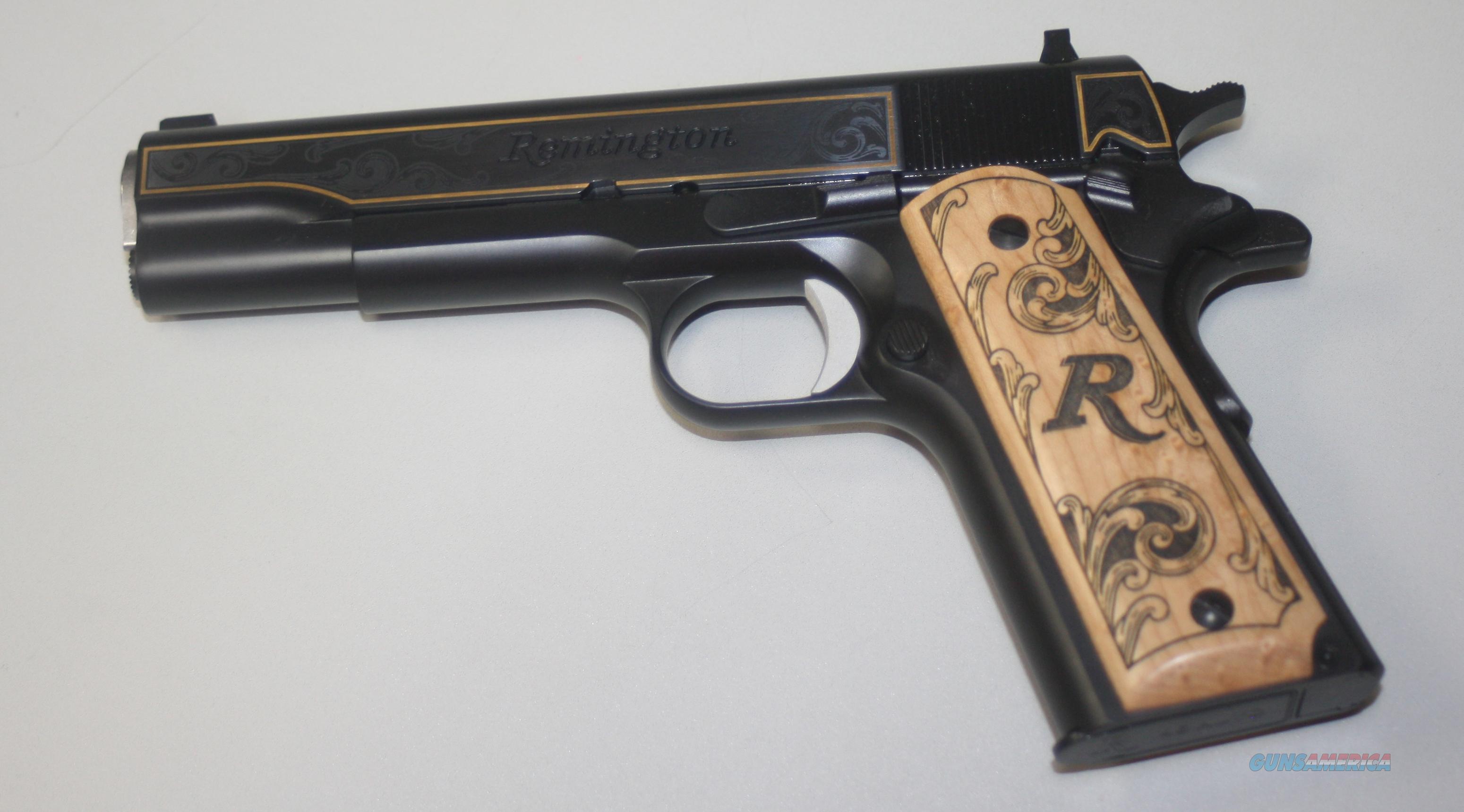 REMINGTON RI HIGH GRADE 1911 45ACP  Guns > Pistols > Remington Pistols - Modern > 1911