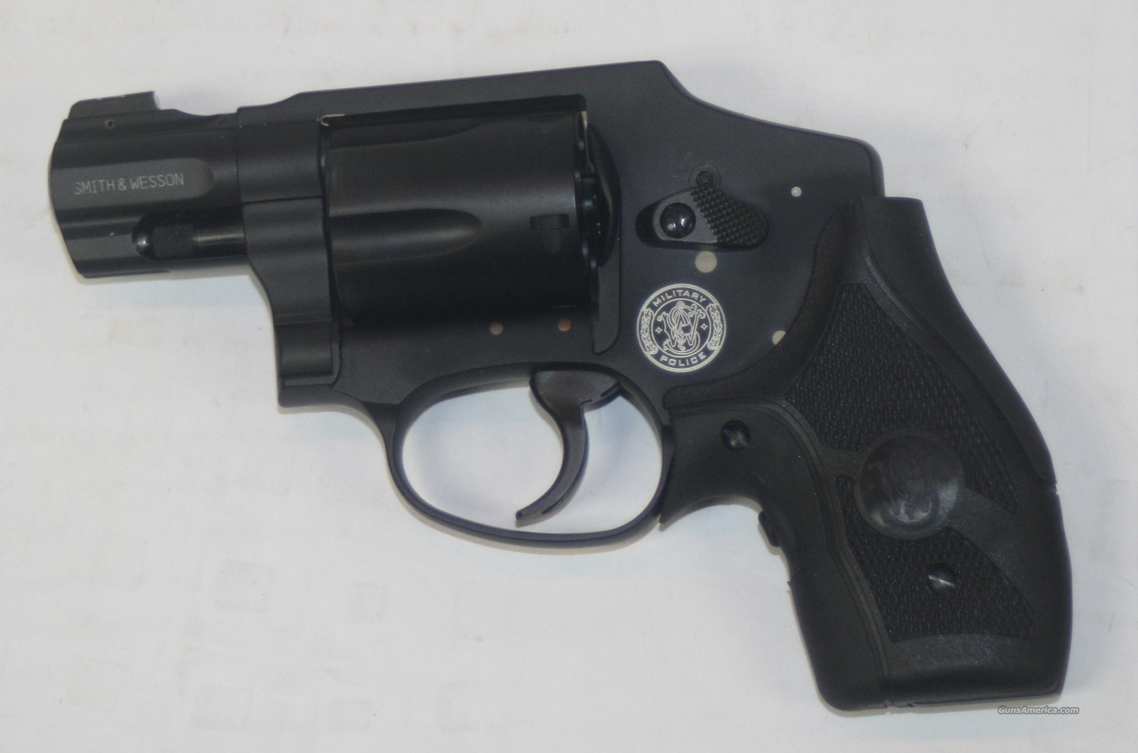 "SMITH & WESSON M&P 340 1.87"" 357 MAGNUM WITH CRIMSON TRACE LASER GRIPS NEW IN BOX  Guns > Pistols > Smith & Wesson Revolvers > Pocket Pistols"