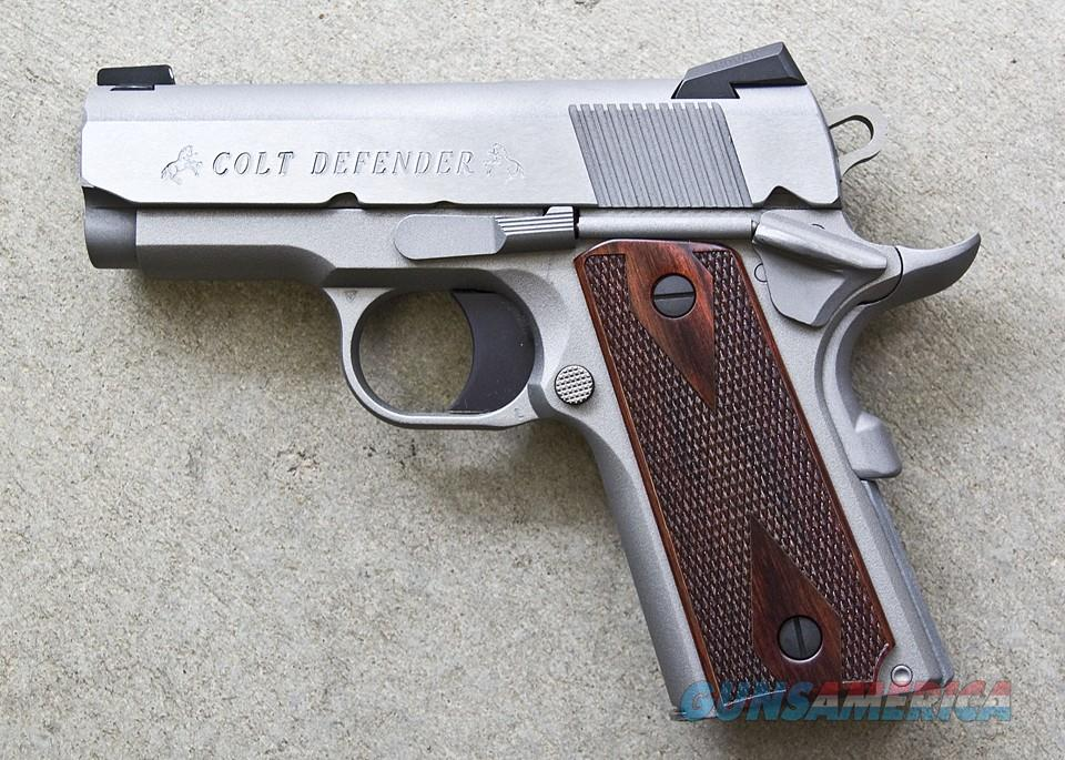 COLT DEFENDER 45 ACP 3 - INCH STAINLESS NEW IN BOX  Guns > Pistols > Colt Automatic Pistols (1911 & Var)