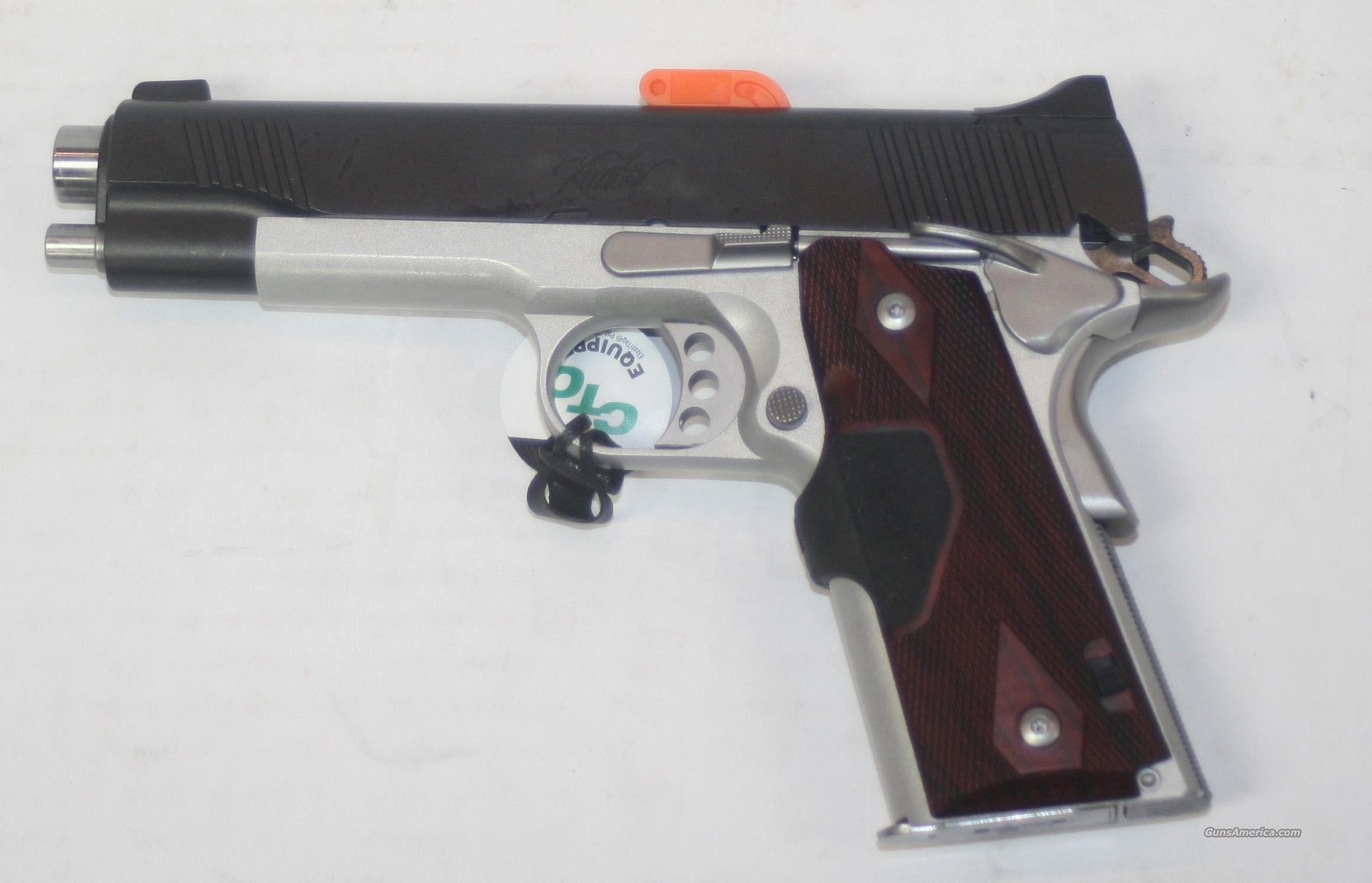 KIMBER CUSTOM CRIMSON CARRY II 45 ACP WITH GREEN LASER GRIPS NEW IN BOX  Guns > Pistols > Kimber of America Pistols