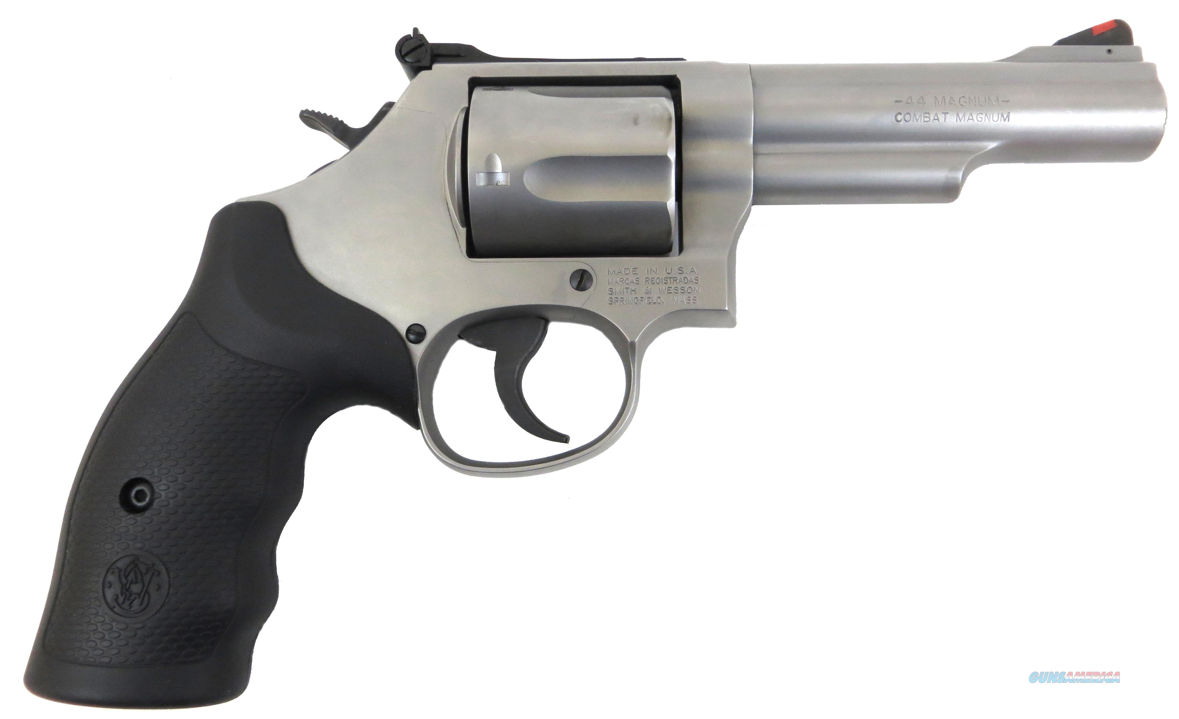 "SMITH & WESSON MODEL 69 44 MAGNUM 4"" L FRAME STAINLESS NEW IN BOX  Guns > Pistols > Smith & Wesson Revolvers > Full Frame Revolver"