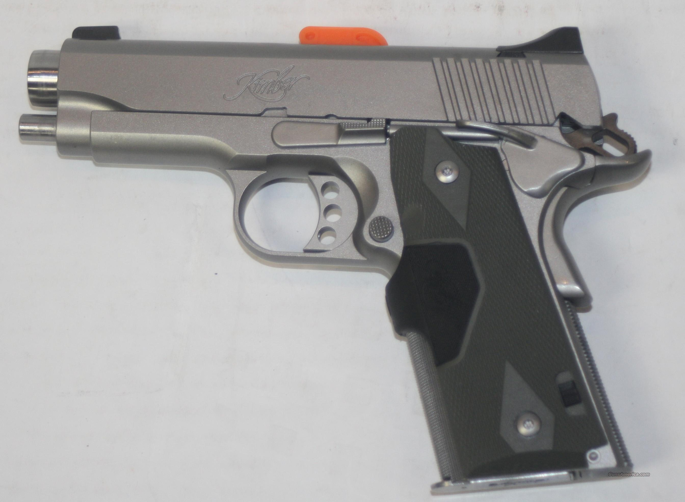 KIMBER STAINLESS PRO TLE II (LG) 45 ACP NEW IN BOX  Guns > Pistols > Kimber of America Pistols