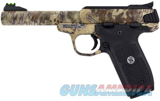 "SMITH & WESSON VICTORY KRYPTEK HIGHLANDER 22 LR 5-1/2"" NEW IN BOX   Guns > Pistols > Smith & Wesson Pistols - Autos > .22 Autos"