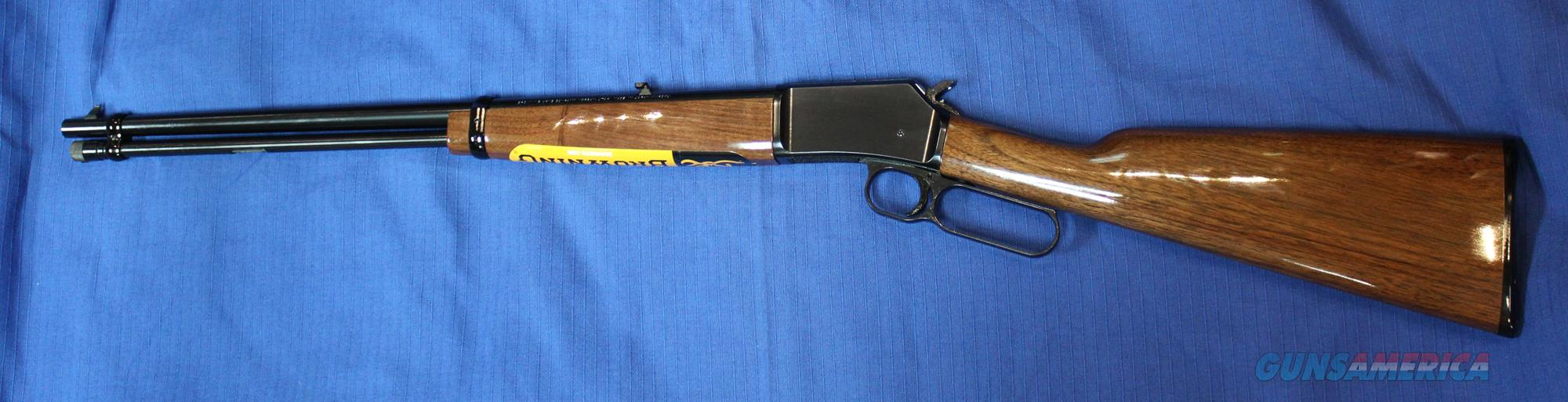 BROWNING BL-22 GRADE I LEVER ACTION 22 S,L,LR NEW IN BOX   Guns > Rifles > Browning Rifles > Lever Action