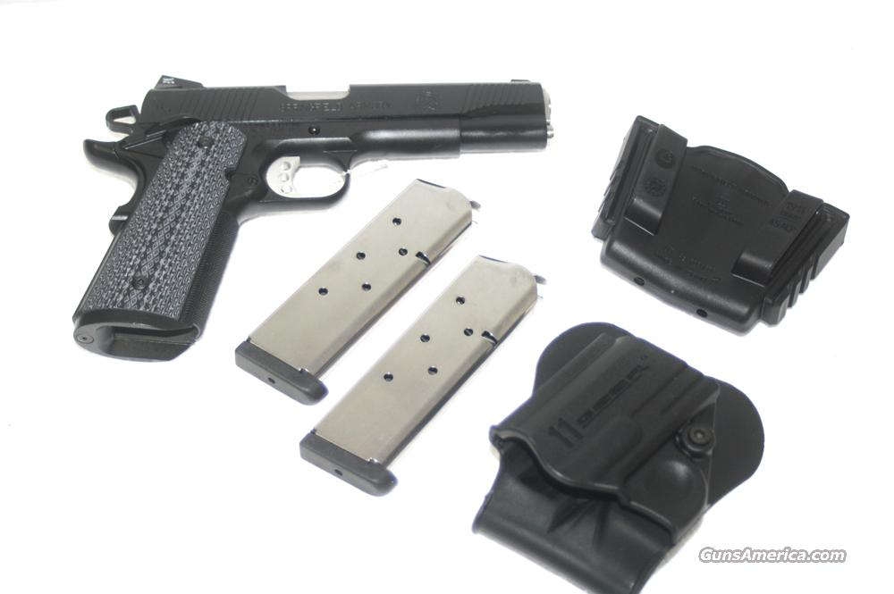 SPRINGFIELD 1911 A1 TACTICAL RESPONSE LOADED 45 ACP NEW IN HARD CASE  Guns > Pistols > Springfield Armory Pistols > 1911 Type