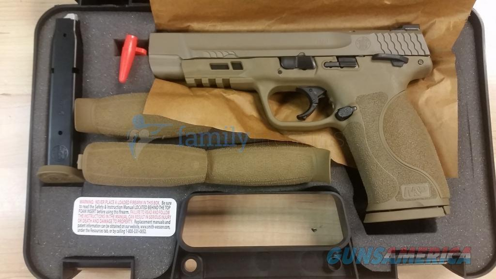 "SMITH & WESSON M&P 2.0 9MM 5"" FDE FINISH 17+1 NEW IN BOX  Guns > Pistols > Smith & Wesson Pistols - Autos > Polymer Frame"