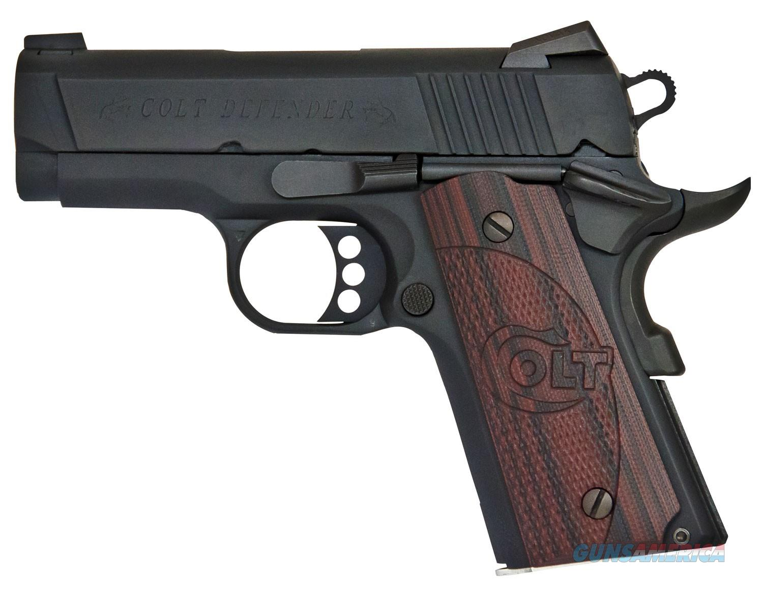 "COLT 1911 DEFENDER O7802XE 3"" 9MM 8+1 CAPACITY NEW IN BOX  Guns > Pistols > Colt Automatic Pistols (1911 & Var)"