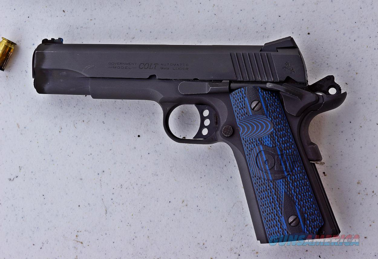 "COLT COMPETITION 1911 45 ACP 5"" BLUED CARBON STEEL G10 GRIP NEW IN BOX  Guns > Pistols > Colt Automatic Pistols (1911 & Var)"