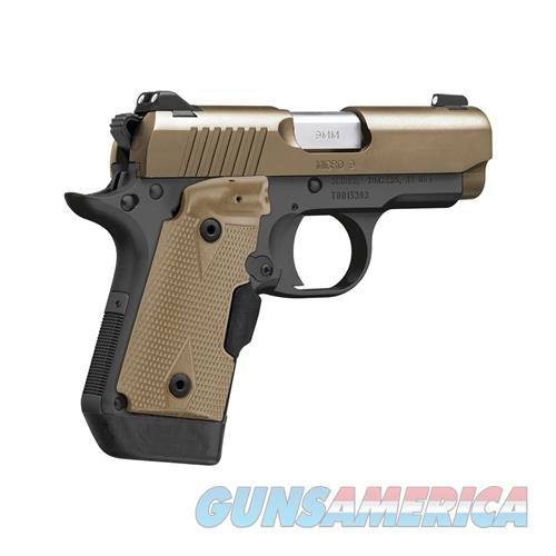 KIMBER LIMITED MICRO 9 DESERT TAN WITH CRIMSON TRACE LASER GRIP NEW IN BOX  Guns > Pistols > Kimber of America Pistols > Micro 9