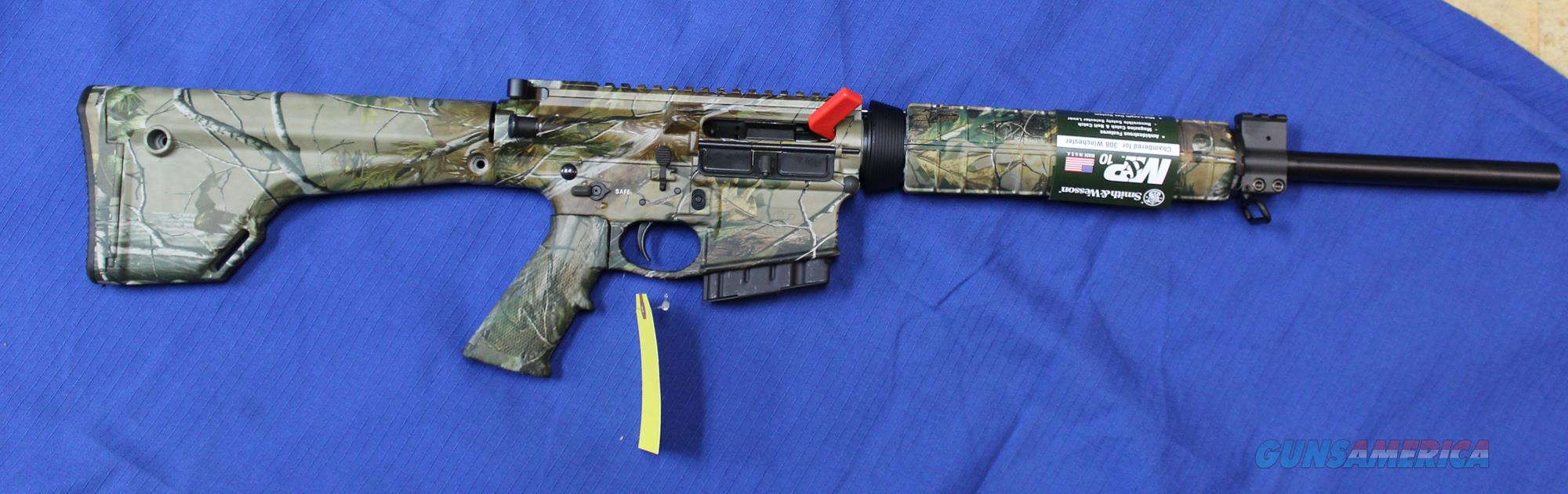SMITH & WESSON M&P 10 CAMO 308 WIN / 7.62 WITH 5 ROUND MAGAZINE   Guns > Rifles > Smith & Wesson Rifles > M&P