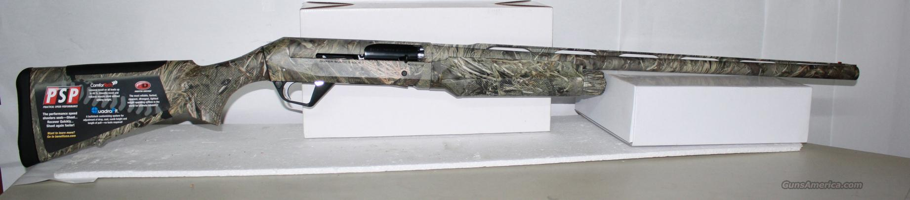 Benelli super black eagle 2 mossy oak duck blind