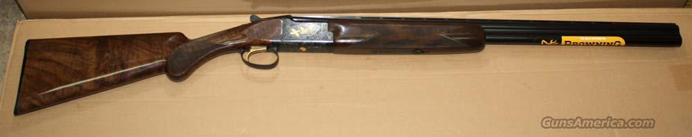"BROWNING CITORI LIGHTNING GR 7 BLUE WITH GOLD 20GA 3"" 26"" ;INVECTOR PLUS NEW IN BOX  Guns > Shotguns > Browning Shotguns > Over Unders > Citori > Hunting"