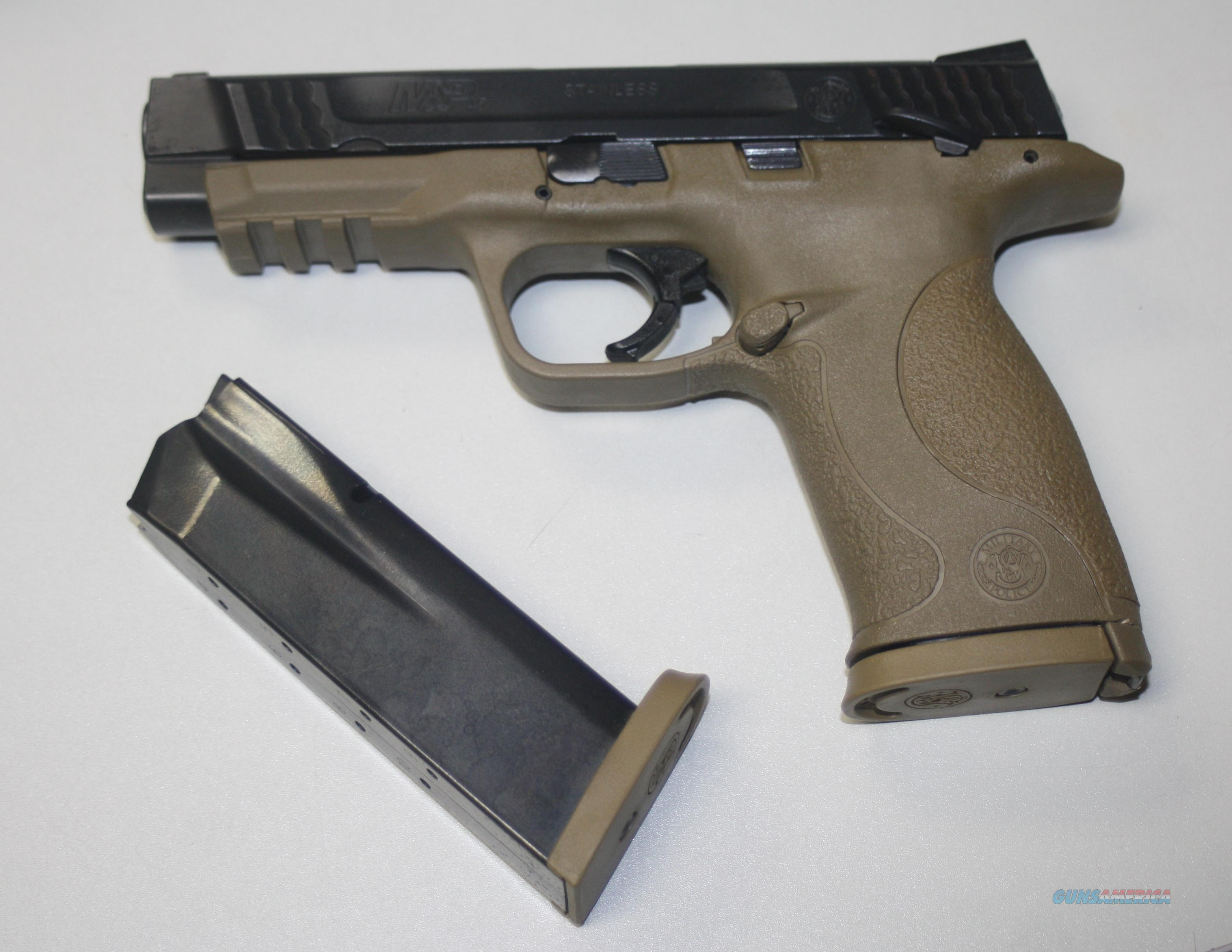 SMITH & WESSON M&P45ACP DARK EARTH BROWN  Guns > Pistols > Smith & Wesson Pistols - Autos > Polymer Frame