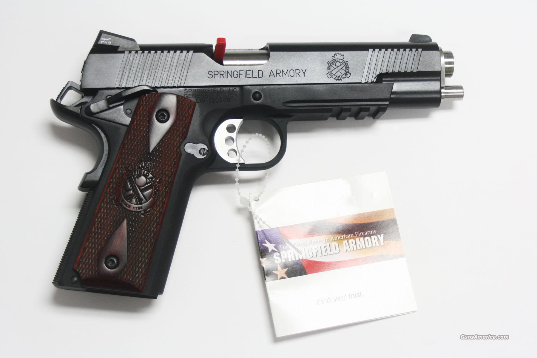 SPRINGFIELD 1911 A1 OPERATOR 45 ACP W/11 GEAR SYSTEM  Guns > Pistols > Springfield Armory Pistols > 1911 Type
