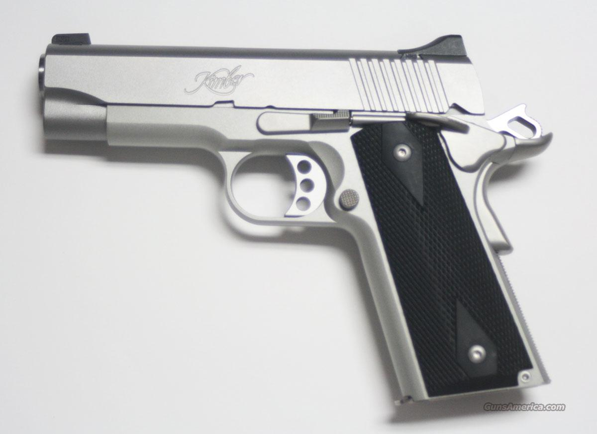 KIMBER STAINLESS PRO CARRY II WITH NIGHT SIGHTS NEW IN HARD CASE  Guns > Pistols > Kimber of America Pistols