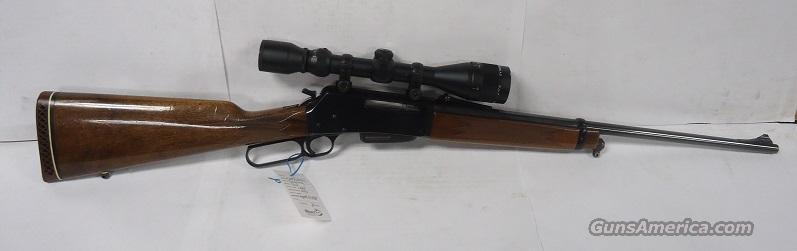 BROWNING BLR LIGHTWEIGHT 81 243 WIN WITH SIMMONS 4-12X40 AO SCOPE  Guns > Rifles > Browning Rifles > Lever Action
