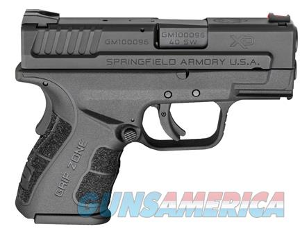 "SPRINGFIELD XD 3"" SUB-COMPACT 40 S&W #XDG9802HC NEW IN BOX  Guns > Pistols > Springfield Armory Pistols > XD (eXtreme Duty)"