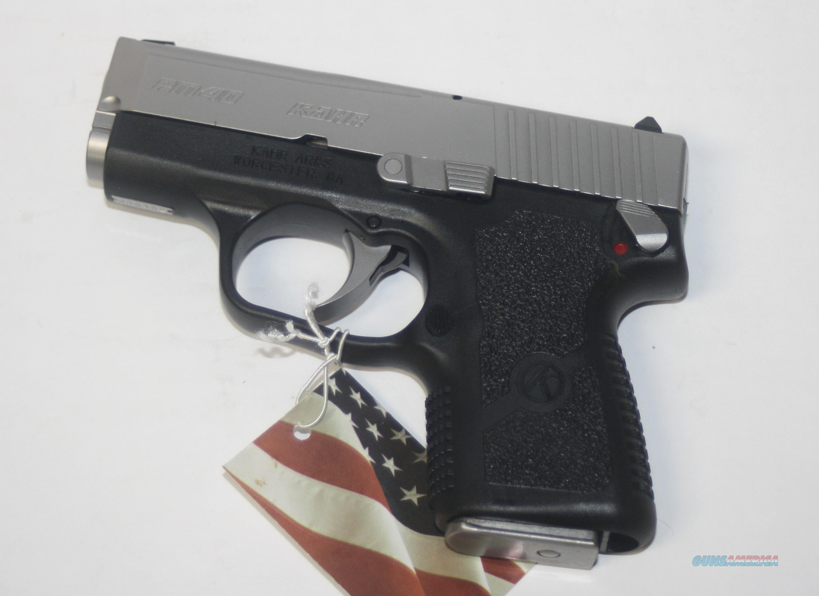 "KHAR ARMS PM4143 MODEL PM40 WITH EXTERNAL SAFETY & LCI 40 S&W 3"" CONCEAL CARRY NEW IN BOX  Guns > Pistols > Kahr Pistols"