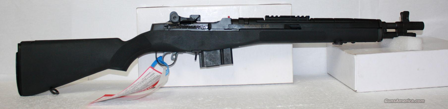 SPRINGFIELD M1A SOCOM 16 CA. LEGAL NEW IN BOX  Guns > Rifles > Springfield Armory Rifles > M1A/M14
