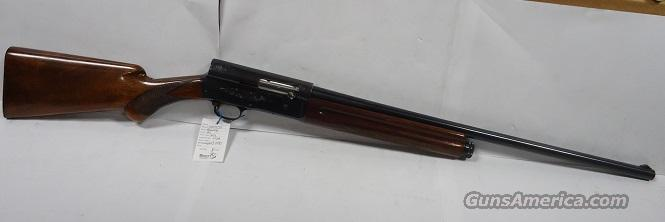BROWNING A5 BELGIUM LIGHT 12 26 INCH IMPROVE CYLINDER ROUND KNOB   Guns > Shotguns > Browning Shotguns > Autoloaders > Hunting